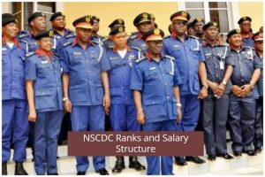 NSCDC Salary Structure