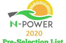 check NPower list 2020
