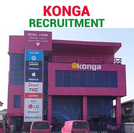 Konga Recruitment