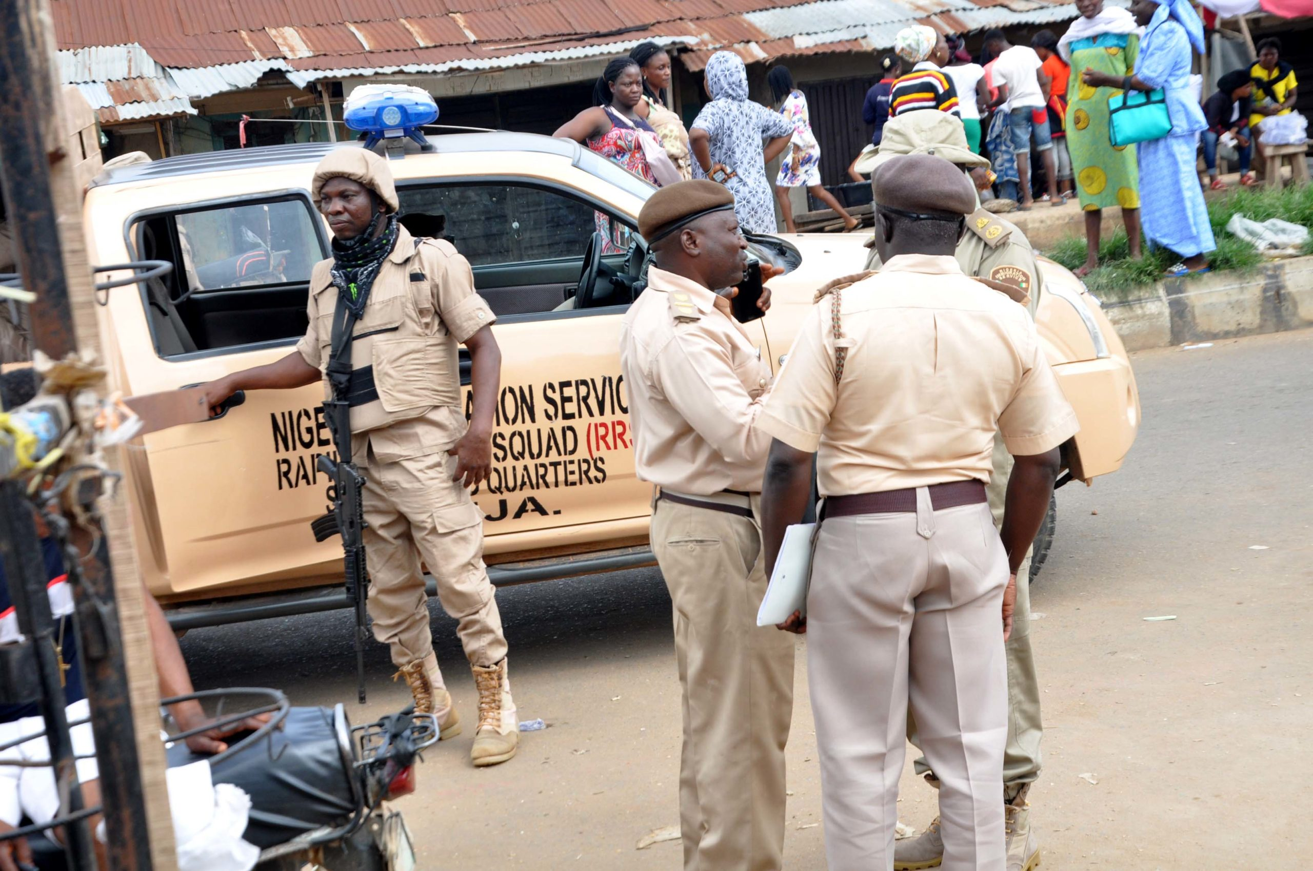 Nigeria Immigration Service shortlisted candidate